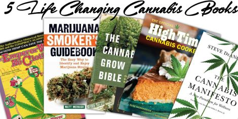 5 life changing cannabis books