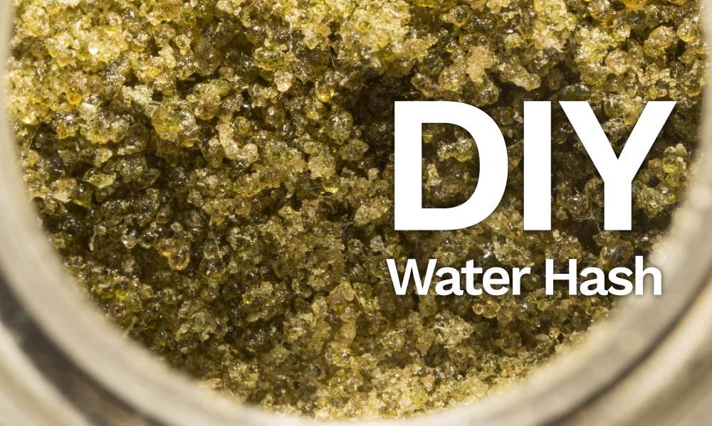 diy water hash